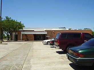 Almeda, Houston - Former location of the Vinson Neighborhood Library