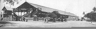 Churchgate railway station - Churchgate in the 1930s