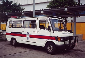 Mercedes-Benz TN - A retired T1 patrol van of the Hong Kong Police Force