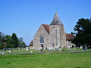 Old Romney - Image: Old Romney Church