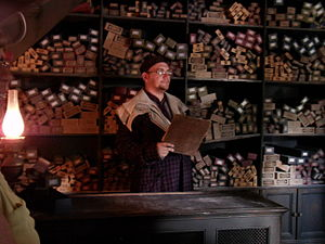 English: Inside Ollivanders at Islands of Adve...
