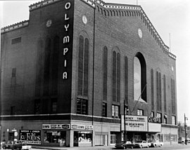 1927 : Cornerstone Laid for Olympia Stadium