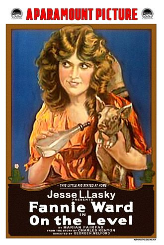 On the Level (1917 film) - Theatrical release poster