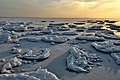 On the shore on a winter evening.jpg