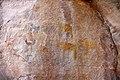One giraffe and three Kudus Mayana Rock Paintings.jpg