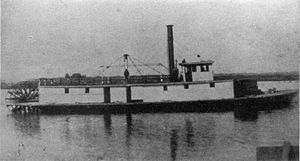Steamboats of Yaquina Bay and Yaquina River - Oneatta c. 1881
