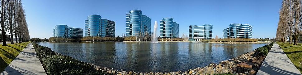 Oracle headquarters in Redwood Shores, California.
