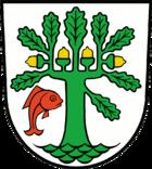 Das Wappen von Oranienburg