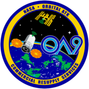 Orbital Sciences CRS Flight 9E Patch.png