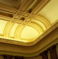 Oregon Supreme Court courtroom ceiling.JPG