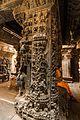 Ornate Pillar Carvings of Vasanta Mantapa - Bhoga Nadeeshwara Temple 01.jpg