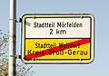 Ortsschild - Ortsende - Mörfelden-Walldorf - Stadtteil Walldorf - 02.jpg