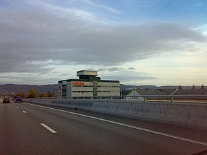 English: Osram factory, Drammen, Norway
