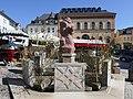 Osterbrunnen auf dem Markt in Reichenbach im Vogtland 2019 (1).JPG