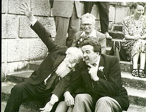 Ota Bubeníček - Ota Bubeníček (left) and Jan Vavřík-Rýz