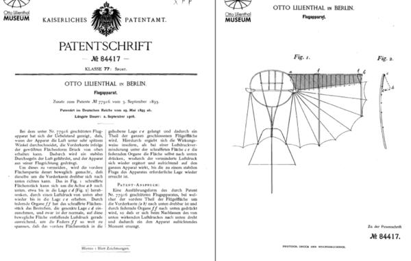 Otto Lilienthal patent DE-1893-84417.png
