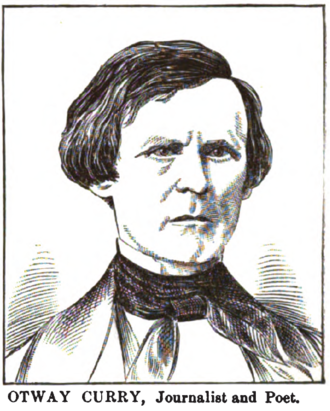Otway Curry - sketch by Henry Howe