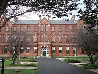 Carysfort College - Image: Our Lady of Mercy College, Carysfort
