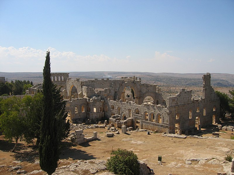 Bestand:Overview of St. Simeons from the North Syria.jpg