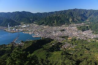 Owase City in Kansai, Japan