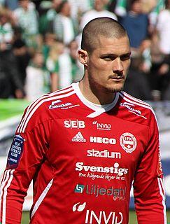 Pär Cederqvist Swedish footballer