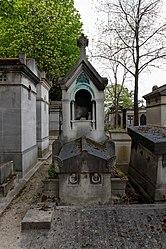 Édouard-François Millet de Marcilly: Tomb of Auguste Eugène Mancel
