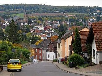 Annegret Kramp-Karrenbauer - Püttlingen, a small town on the German–French border, where Annegret Kramp grew up