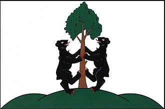 Přimda - Image: Přimda flag