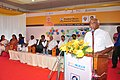 P. Radhakrishnan addressing the gathering at the inauguration of the Pradhan Mantri Kaushal Kendra (PMKK), an initiative of Ministry of Skill Development & Entrepreneurship, at ST Hindu College, in Nagercoil, Tamil Nadu.jpg