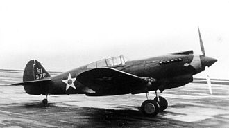 57th Operations Group - P-40C of the 57th Pursuit Group, probably taken at Windsor Locks, Connecticut, 1941