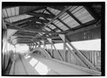 PANORAMA OF INTERIOR - Taftsville Bridge, Spanning Ottaquechee River, Taftsville Bridge Road, Taftsville, Windsor County, VT HAER VT-30-8.tif