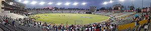 Punjab Cricket Association IS Bindra Stadium - Image: PCA Stadium Mohali wide