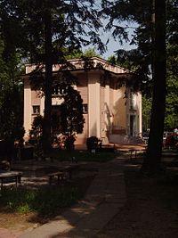 Dom Pogrzebowy, część komunalna