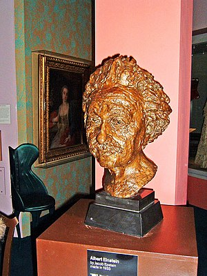 1933 in art - Jacob Epstein – Bust of Albert Einstein