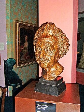 1933 in art - Jacob Epstein – Bust of Albert Einstein