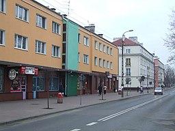 Hovedgade i Nowy Dwór.