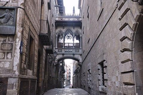 Gothic area Barcelona