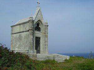 Cueto, Cantabria - Panteón del Inglés Cemetery on the cliffs of Cueto