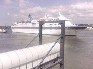 Portside Wharf - Image: Pacific Sun portside 2