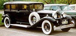 Packard Ninth Series De Luxe Eight 904 Sedan Limousine 1932