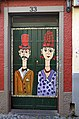 Painted door (Pair). Funchal, Madeira.jpg