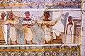 Painting on limestone sarcophagus of religious rituals from Hagia Triada - Heraklion AM - 03.jpg