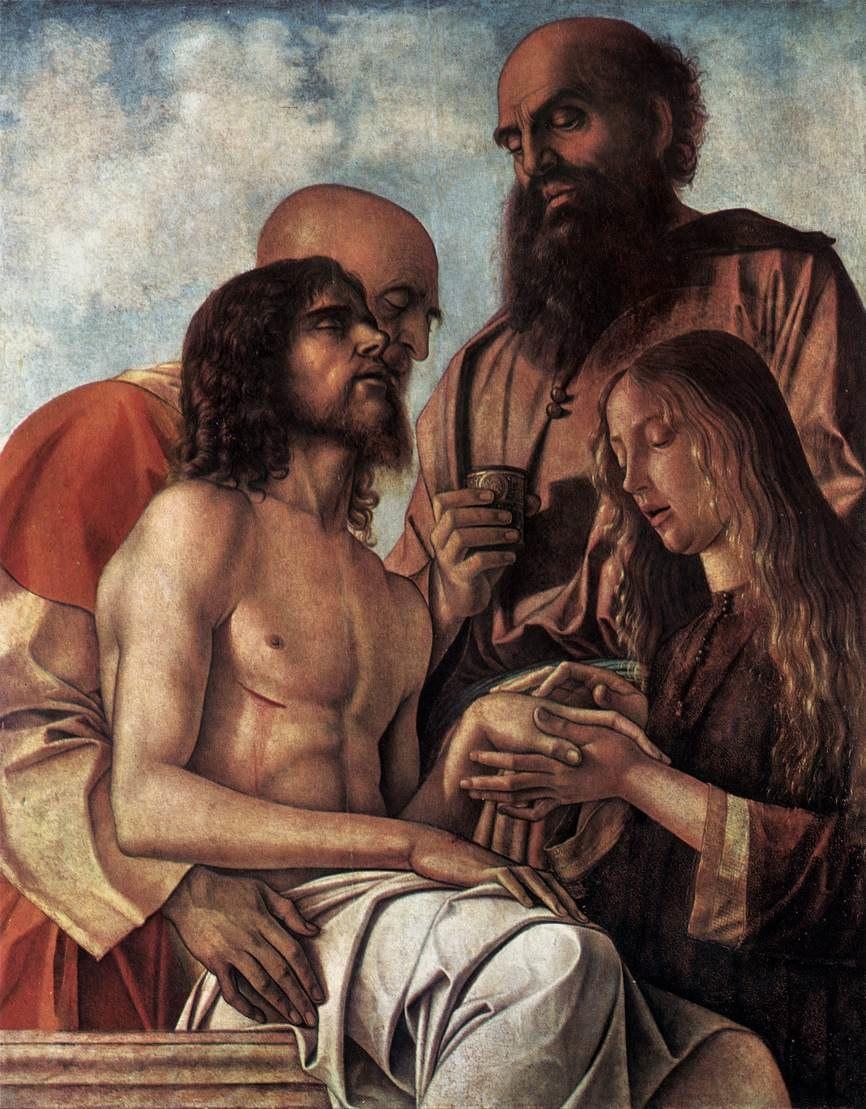 Pala di pesaro 08, pietà, pinacoteca vaticana