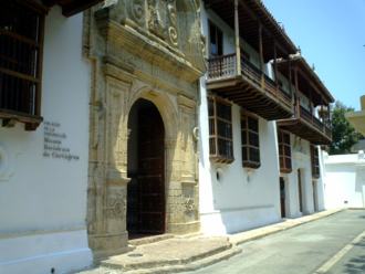 1770 in architecture - Palace of Inquisition, Cartagena