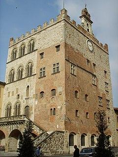 building in Prato, Tuscany, Italy