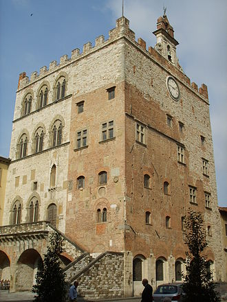 Monash University, Prato Centre - Palazzo Pretorio, another of Prato's palaces in its historical centre.