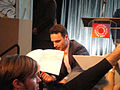 PaleyFest 2011 - The Walking Dead panel - Andrew Lincoln signs for fans (5500585072).jpg