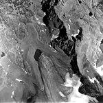 Palisade Glacier, Glacial Remnants, August 24, 1972 (GLACIERS 1591).jpg