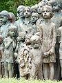 Památník Lidice , památník věnovaný obětovným dětem 05.jpg