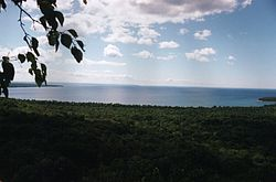 Pancake Bay, from the Lookout.jpg